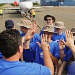 Team Kadex with cadets